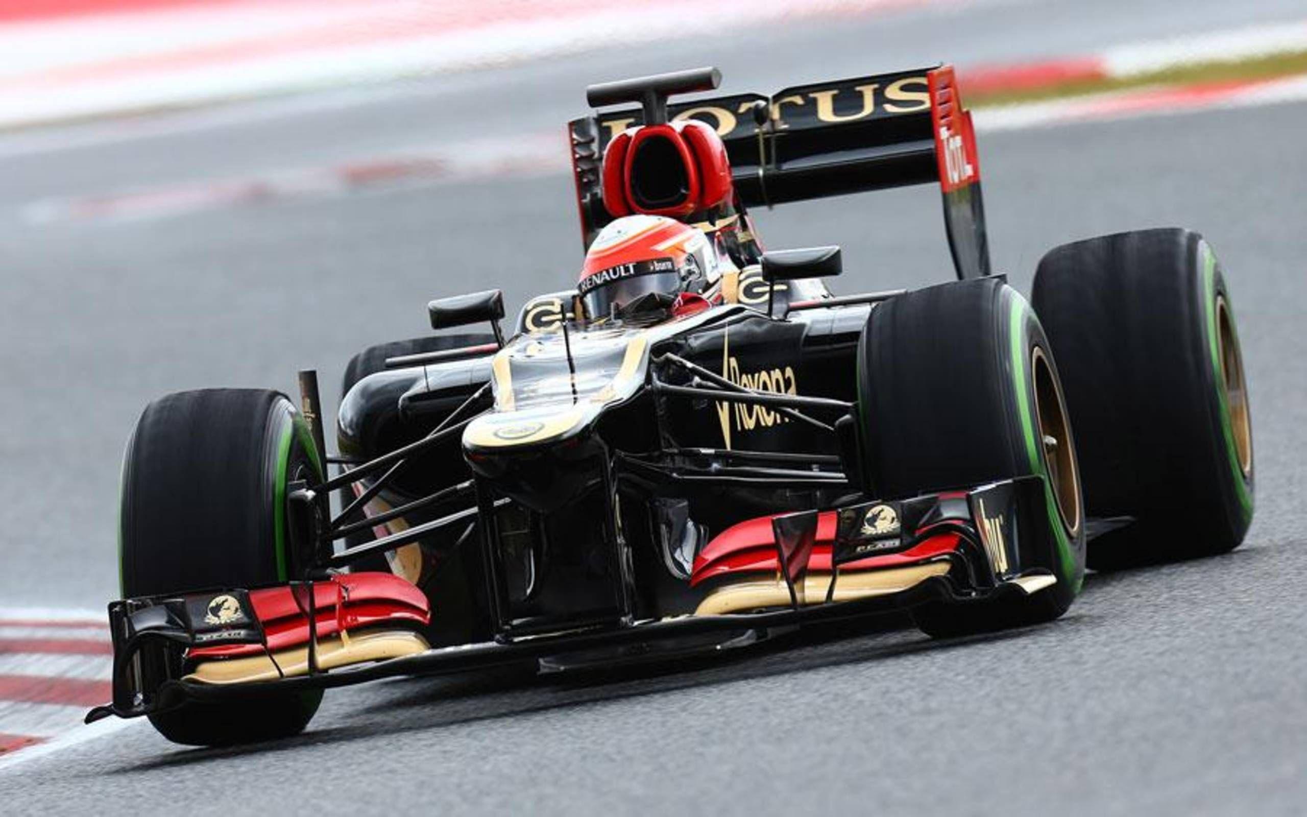 LOTUS E21 2ème GP F1 US 2013 R Grosjean