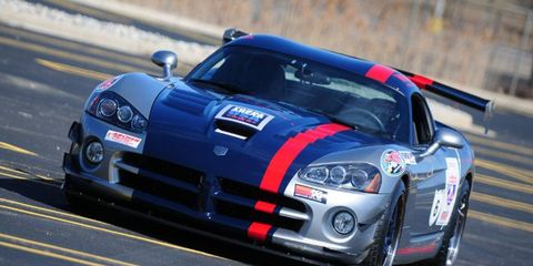 This Viper will participate in the 2013 Tire Rack One Lap of America.