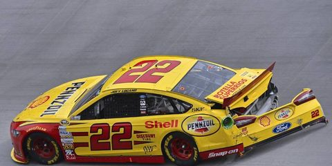 Even though he got spun out by former teammate Denny Hamlin, Joey Logano was actually considered one of the winners at (not of) Sunday's race at Bristol.