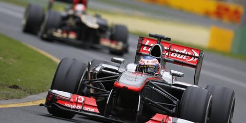 Jenson Button finished in ninth place in Australia, while teammate Sergio Perez finished 11th. Despite the mediocre finishes, McLaren boss Martin Whitmarsh thinks the cars will rebound.