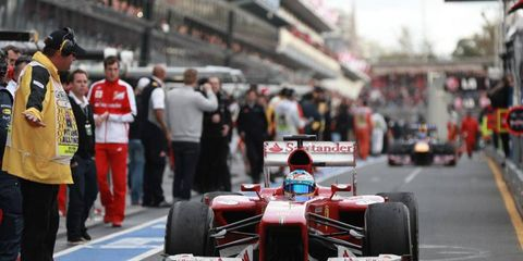 After a  fine showing in Australia, Ferrari is optimistic about its chances in 2013.