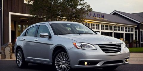 Production of the 2014 Chrysler 200 sedan is set to end in January, months earlier than is typical.