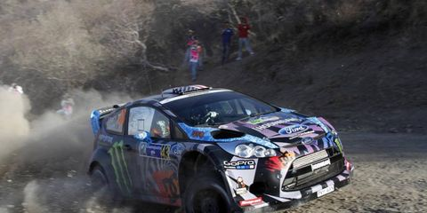 Ken Block says he would love to run a full schedule of WRC races, but his other obligations keep him from it.