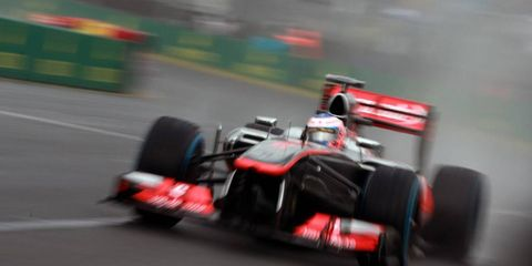 Jenson Button was surprised to come in 10th place in Australian GP qualifying. He thought he would be further back.