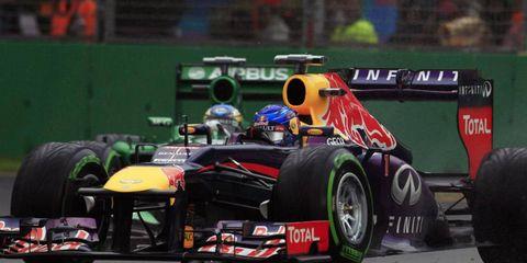 Sebastian Vettel seems to be picking right back up where he left off last season. The four-time champ won the pole in Australia.