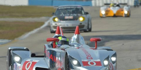 The struggles of the DeltaWing continued Saturday in Sebring.