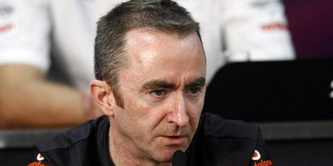 While it had been widely speculated that Paddy Lowe will leave McLaren at the end of the season to go to Mercedes, it still isn't official.