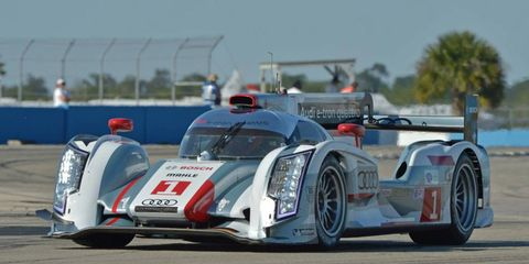 Audi had a good day in Sebring, as Marcel Fassler took the pole for LMP1, and Audi teammate Allan McNish took second.