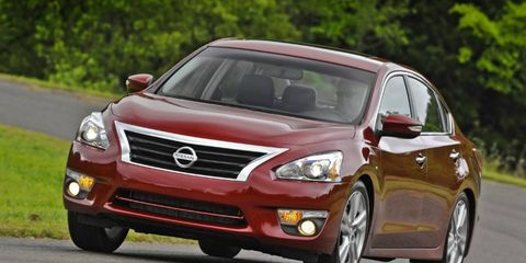 Altima, Leaf, Pathfinder, Sentra and Infiniti JX35 vehicles from model year 2013 are being recalled  due to a problem with passenger airbag sensors.