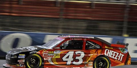 Michael Annett injured his sternum at Daytona, and is still recovering from the injury.