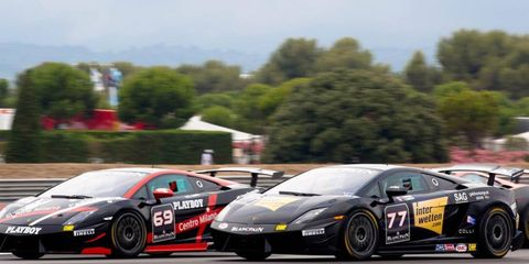 The Lamborghini Super Trofeo series will be making an appearance in the US this season.