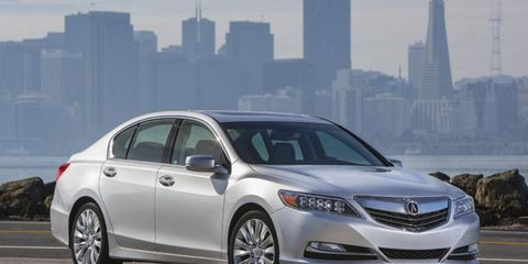 The 2014 Acura RLX goes on sale March 15.