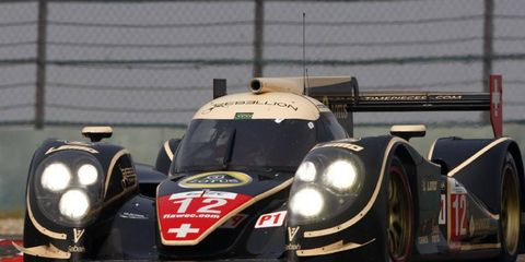 Rebellion Racing took the top two spots in the final day of ALMS testing at Sebring.