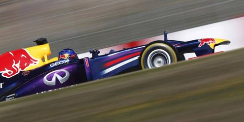 Sebastian Vettel will attempt to win his fourth Formula One title this season. He said the pressure doesn't bother him.
