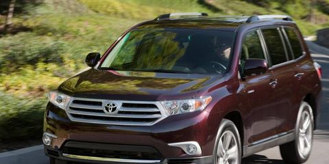 The current Toyota Highlander hasn't been redesigned since 2007.