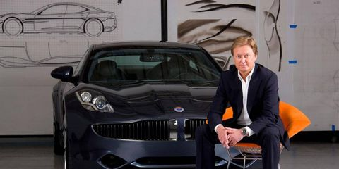 """Henrik Fisker, referring to himself in the third person, said: """"The main reasons for his resignation are several major disagreements that Henrik Fisker has with the Fisker Automotive executive management on the business strategy."""""""
