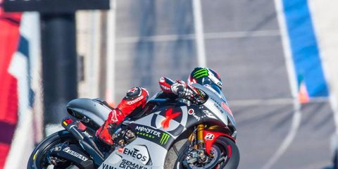 Teams began a three-day MotoGP test on Tuesday at Circuit of the Americas in Austin, Texas.