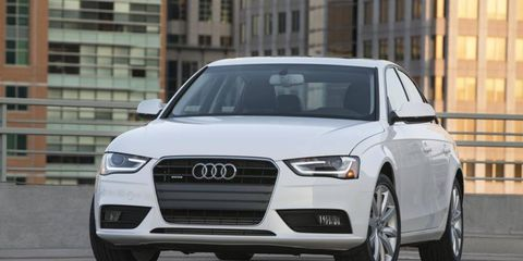 The U.S. will get an A4 diesel with the next generation 2014 model.