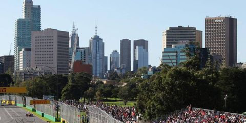 The Formula One season kicks off on March 17 at Melbourne.