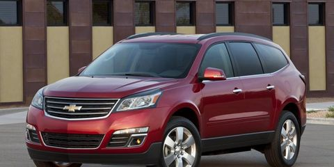 The Chevrolet Traverse is just one of six General Motors vehicles that earned the honor.