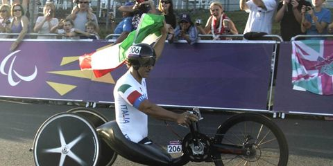 Alex Zanardi winning gold in the 2012 Paralympic Games in London was one of the feel-good stories of the Olympic season.