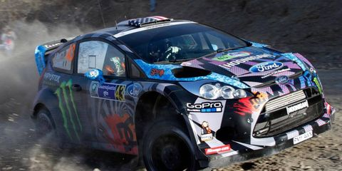 Ken Block finished seventh at WRC's Rally Mexico, which concluded on March 11.
