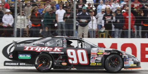 Alabama native Grant Enfinger won the ARCA Racing Series event at Mobile, Ala., on Saturday.