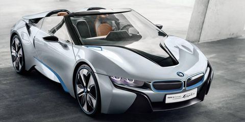 The production version of the BMW i8 will mark the first use of the German automaker's three-cylinder engine.