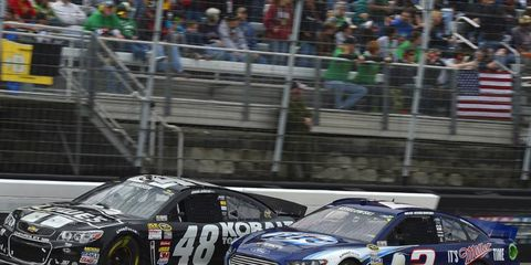 Brad Keselowski's crew chief thinks that Penske's move from Dodge to Ford came at a great time.