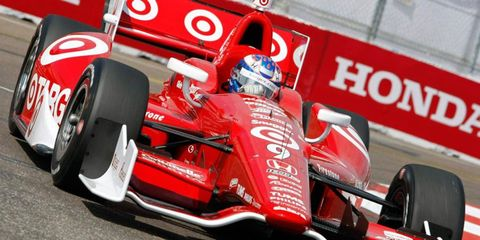 Scott Dixon qualified a disappointing 20th for car owner Chip Ganassi in St. Petersburg on Saturday.