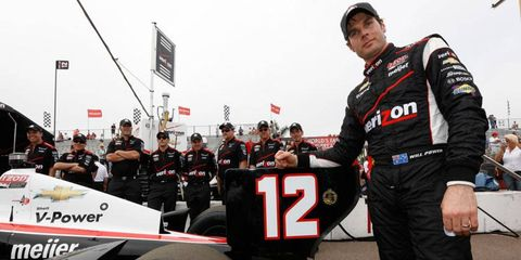 Will Power won the first pole of the IndyCar Series season on Saturday in St. Petersburg, Fla.