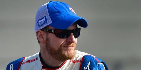 Dale Earnhardt Jr. is second in the NASCAR Sprint Cup Series points chase through four races.