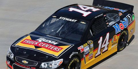 Tony Stewart is the defending champion of the NASCAR Sprint Cup Series race at Fontana.