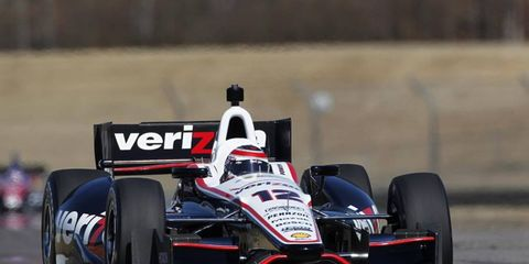 Will Power was the fastest car at IndyCar practice on Friday. The driver is preparing for the season to start this weekend.