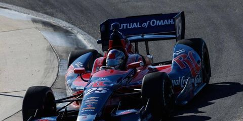 Marco Andretti is seeking to be a more well-rounded driver in the IndyCar Series this season.