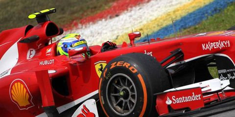 Fernando Alonso is seeking another trip to the Formula One podium on Sunday in Malaysia.