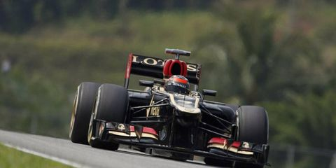 Kimi Raikonen followed up his first place finish in Australia by being the fastest car in practice in Malaysia.