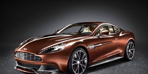 Aston Martin is the featured marque at the 2013 Pebble Beach Concours d'Elegance.
