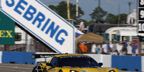 Tommy Milner couldn't be stopped at the 12 Hours of Sebring. He helped his team win the Florida race.