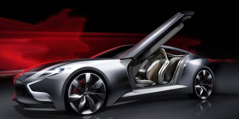 The Hyundai HND-9 concept will debut in Seoul at the end of March.