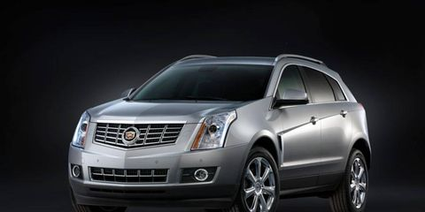This 2013 Cadillac SRX and the Buick LaCrosse are being recalled for a software problem that could cause the automatic transmission to shift out of manual mode.