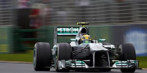 Lewis Hamilton finished in fifth place at the Australian Grand Prix last Sunday, which could have been seen as a disappointment for the Mercedes team.