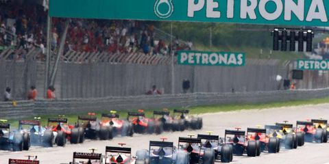 The Formula One Malaysia Grand Prix is set for 3:30 a.m. ET on March 24.