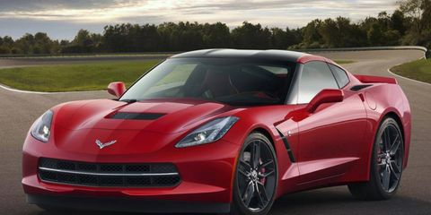 A Chevy contest that gives the winner a 2014 Corvette Stingray puts the car's value at $71,860.