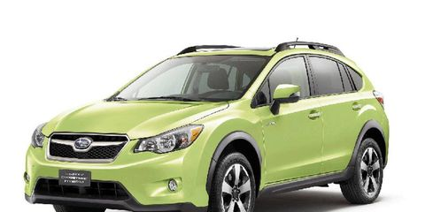 Subaru says the hybrid version of the XV Crosstrek goes on sale this fall.