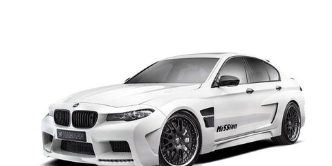 The Mission M5 is mostly a visual upgrade, though Hamann offers exhaust and suspension systems as well.