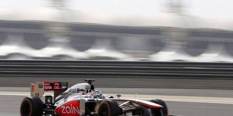 McLaren boss Martin Whitmarsh has confidence in driver Jenson Button.