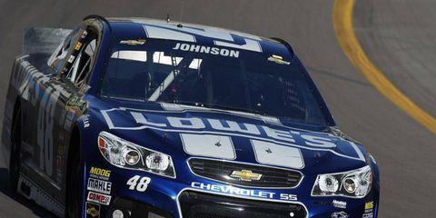 Jimmie Johnson drives for Hendrick Motorsports.