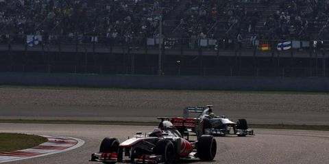 Jenson Button was one of several F1 drivers who spoke to the press on Thursday.