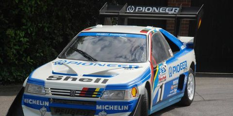 Peugeot will be competing at the Pikes Peak hillclimb event with this modified 208.